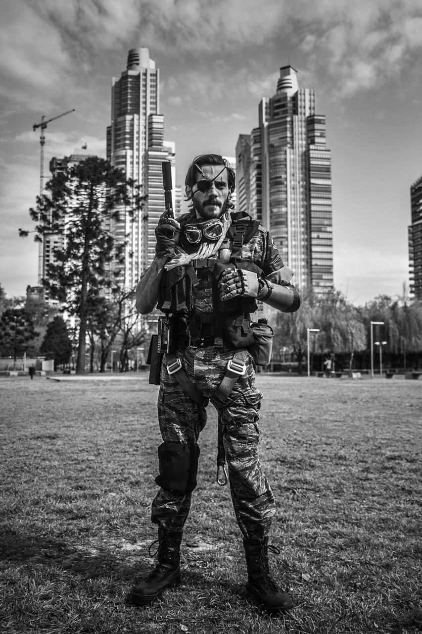 Cosplayer en Puerto Madero